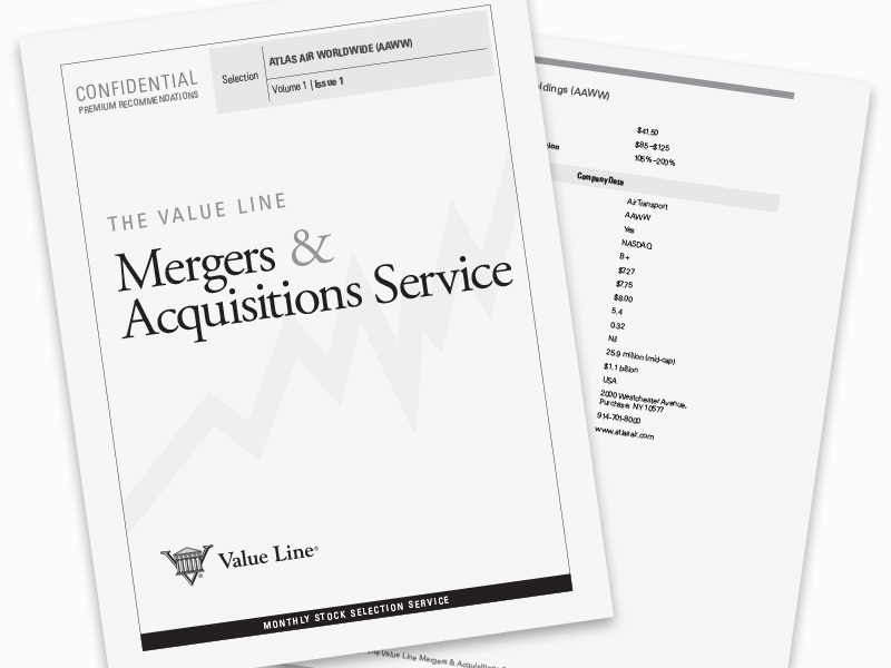 The Value Line Mergers & Acquisitions Service